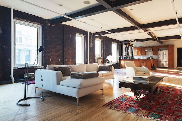 SOHO NOLITA 2500 SF INDUSTRIAL LOFT Lofts For Rent In New York