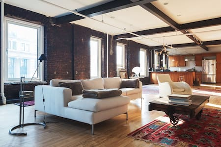 SOHO/NOLITA 2400 SF LOFT-2 BEDROOM