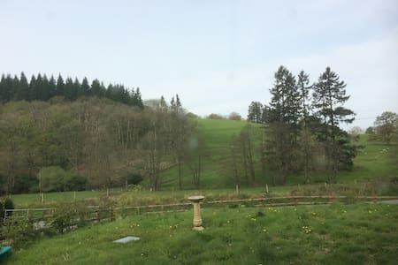 Brecon Beacons Hill Farm - Chef on site - Hus