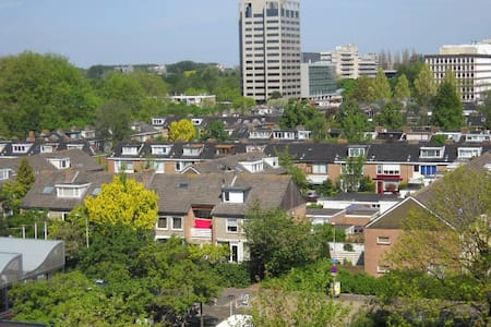 Luxery Apartement 105m2 free park near metro&tram - Amstelveen - Apartment
