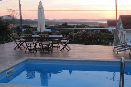 Luxury House Sea Views & Prívate Pool - Ferrol - Townhouse