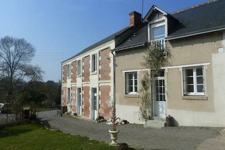 Pleasant outhouse B&B, bathroom/WC - Vernou-sur-Brenne - Bed & Breakfast