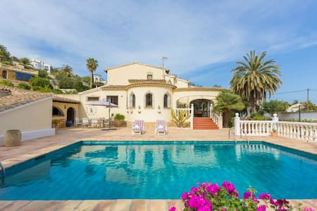 Schitterende vakantiewoning te huur - Benissa - Villa