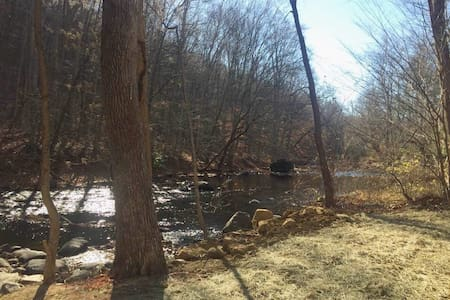 Private Suite on the Musconetcong River. - Hackettstown - Wohnung