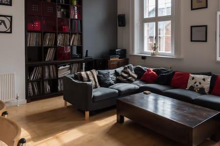 Luxury grade 2 listed Central Flat - Sheffield - Apartamento
