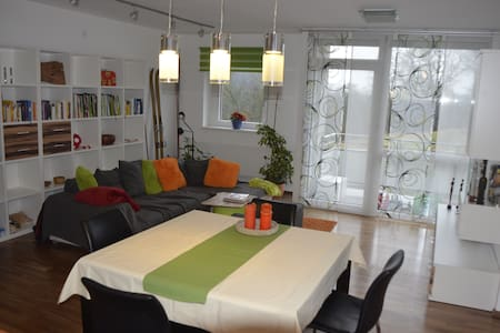 new designed room in top-location - Lakás