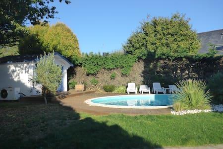 Villa individuelle avec piscine. - Concarneau