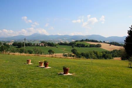 Stanza in campagna + collazione - Castelraimondo - House
