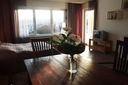Großzügiges Doppelzimmer mit Garten - Apartemen