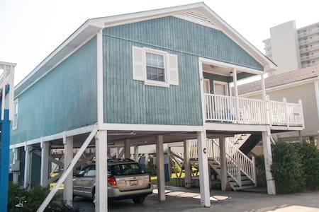 Cozy Sea Mint Beach Cottage. Dec - Jan LOW Rate! - Garden City - Casa