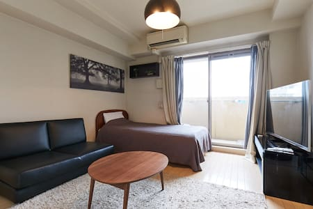 Near Osaka castle/Nanba/Kyoto/USJ/Free wifi - Appartement