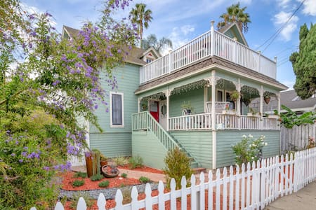 Lovely 3 BR Victorian near The Sea - Los Angeles - Maison