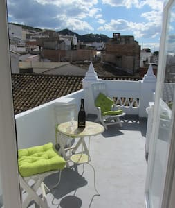 The Famous Tiniest Townhouse in Old Town Oliva. - Apartamento