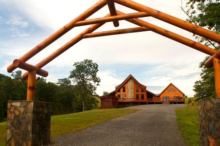 Log Cabin in Blue Ridge Mountains - Dobson