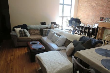 Have couch avail in large UWS apt.
