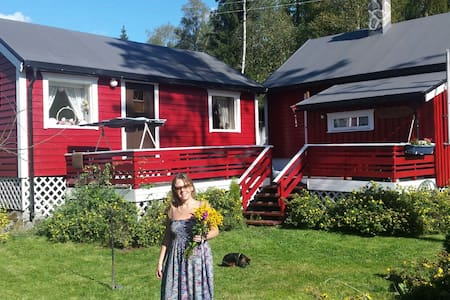 Charming forest cabin close to Oslo - Spydeberg - Cabanya