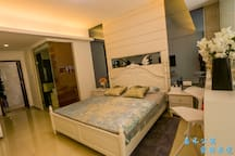 三亚嘉禾公寓温馨大床房