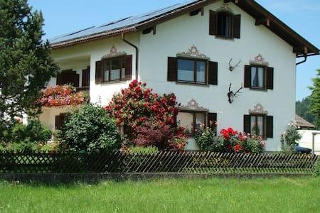 FeWo  (76 m²)  mit Alpenrundblick am Samerberg - Samerberg - Apartamento
