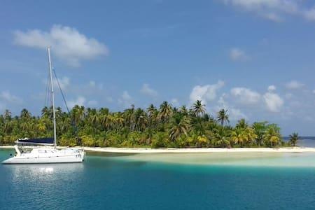Catamaran comfort in real heaven!  - Boot