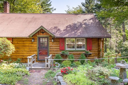 Sunny Brae, Modern Sprucewold Log Cabin With Beach - Boothbay Harbor - Cabane