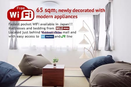 Modern 65m2 apartment - Fastest WIFI available!! - Byt