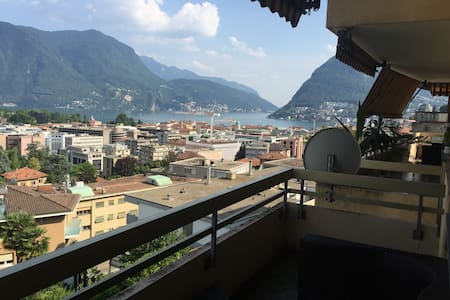 Private room 5min walk to downtown - Lugano - Apartment