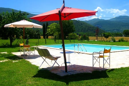 2 Monastery Suites/luxury/sleeps 8/Spoleto-4mls - Talo
