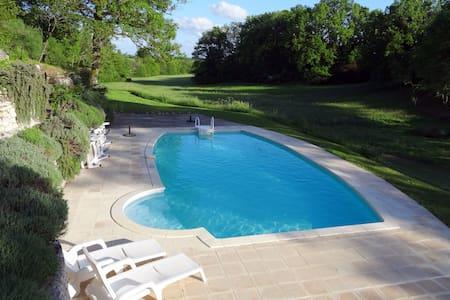 Tres beau gite (75m²) avec piscine - Issigeac - House