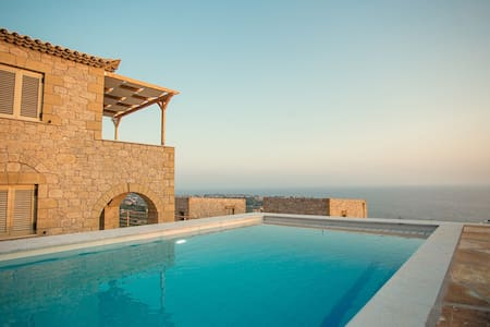 Tseralia Houses 2- private pool - Willa