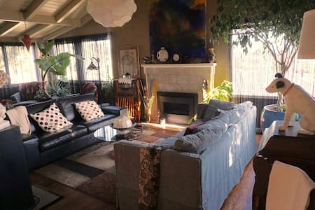 Panoramic views of SF Bay, Bright garden room - Σπίτι