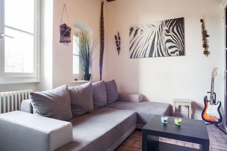 NEW, studio fully equipped near Gva - Apartment