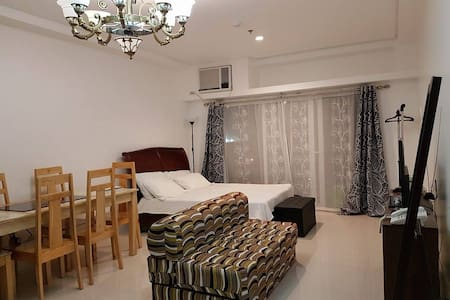 Condo_Studio Type w/ balcony, pool & gym, CBD Area - Ortak mülk