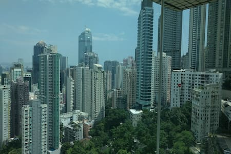 Room with stunning views- 5 mins from Central - Apartemen