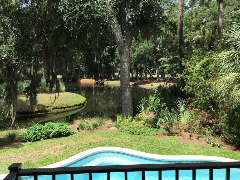 Beautiful Sea Pines Home With Golf Amp Lagoon View Houses