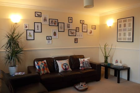 Double room & private bathroom - Penarth - Apartamento