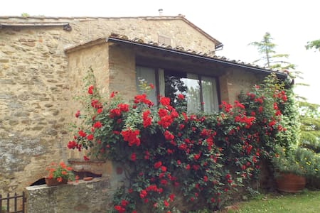 Casetta, house in the hearth of tuscany - Appartement
