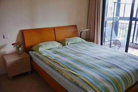 ☆Double-room & balcony TOP Location - Shanghái - Departamento