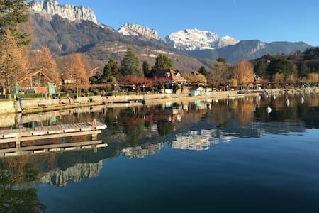Entre lac et chateau.. - Menthon-Saint-Bernard - Apartment