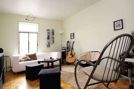 Nice furnished room in a 4 1/2 - Montréal - Apartment