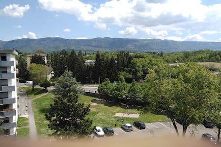 Studio à la frontière de Genève - Apartemen