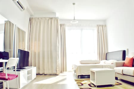 Bright Studio Beside Twin Towers - Kuala Lumpur - Appartement