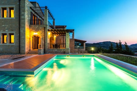 Villa Thalia,majestic landscape of South Crete! - Villa
