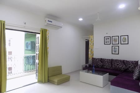 SOULMATES Goa - Peaceful 1BHK Apartment, Candolim - Candolim