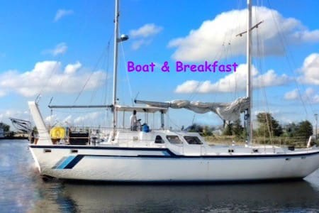 Forward Stateroom - Aruba's first Boat & Breakfast - Oranjestad - Vaixell