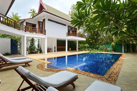 Villa Verde - 50m from the  beach - Ko Samui
