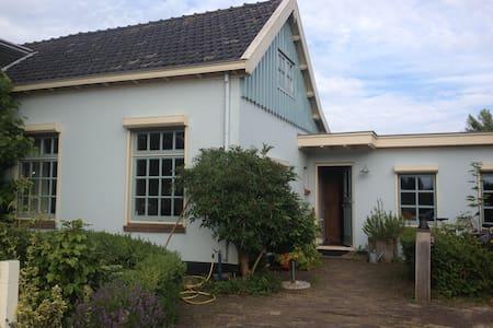 Rural cottage between Amsterdam - Haarlem + boat - Kisház