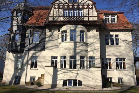 Villa Lobstädt - Dachgeschosswohnung im Park - Lägenhet