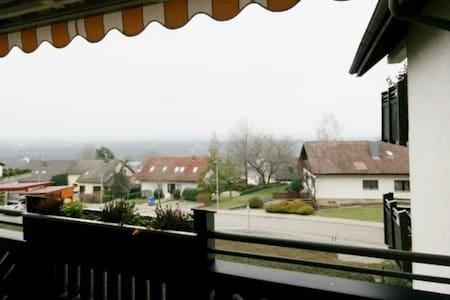 Schöne 2 Zi-Whg. BalkonVogesensicht - Bad Bellingen - Apartment
