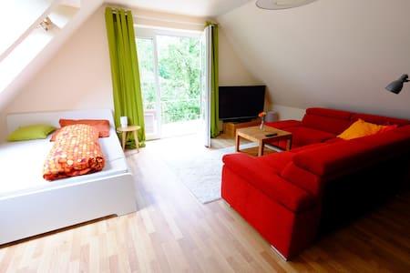 Gemütliches, kleines Apartment mit Terasse - Osnabrück - Daire