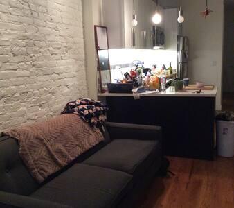 Beautiful  Apartment in Quiet Neighborhood L Train - 皇后区